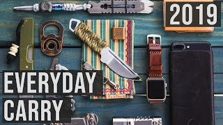 5 BEST EDC EVERYDAY CARRY Gear - Items - Gadgets - Accessories ◈ 2019 ◈
