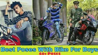 Style Bike Photography Photo Pose Stylish Photography Pose