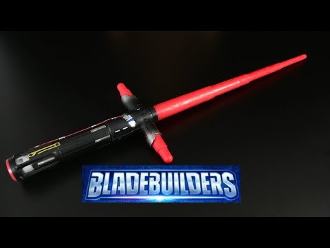 Star Wars Bladebuilders Electronic Kylo Ren Lightsaber from Hasbro