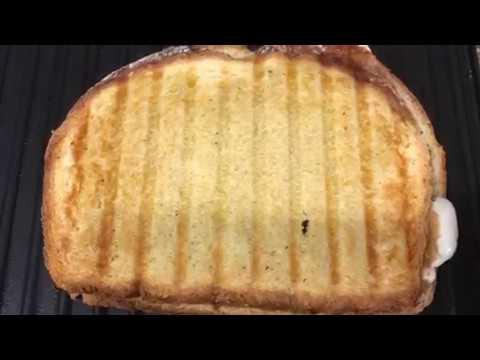 Tomato Mozzarella Panini Sandwich