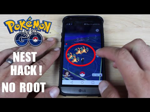 How To Find RARE Pokemon Nests In PokeMon Go NO ROOT Hack / Cheat