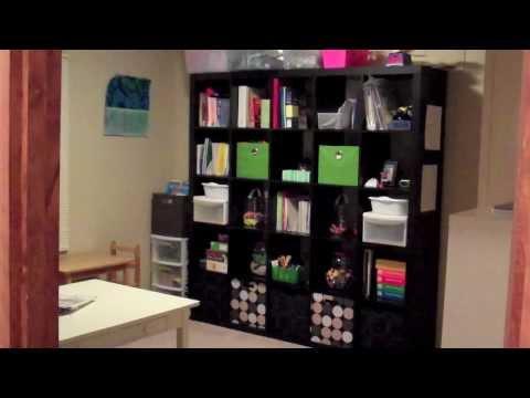 My Homeschool room tour!