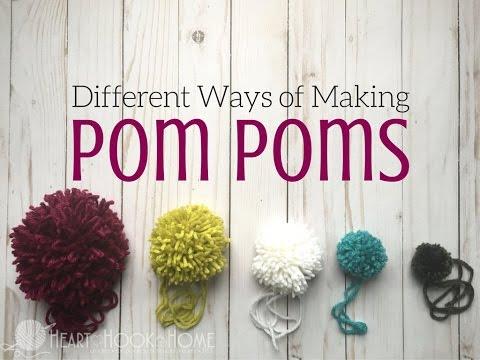How to Use Clover Pom Pom Makers