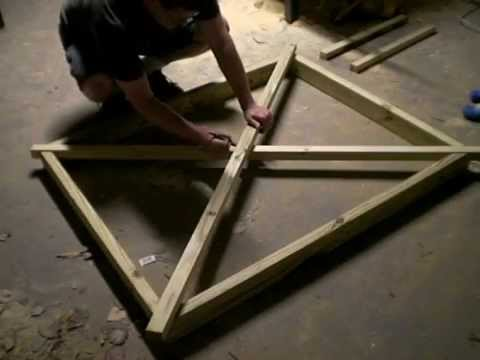 How I made a simple garden gate