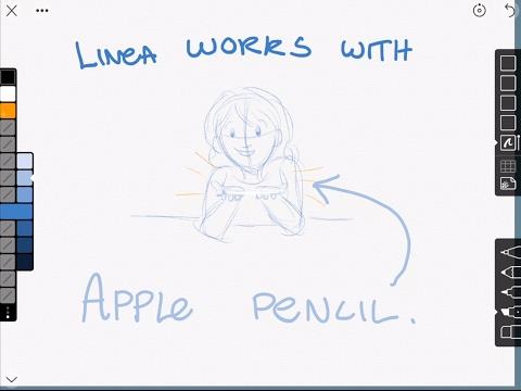 Linea is the best iPad sketching app