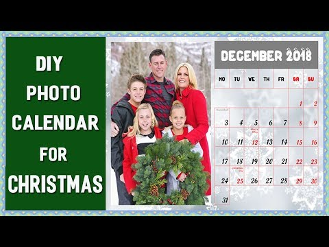 DIY Photo Calendar for Christmas - Step-by-Step Guide