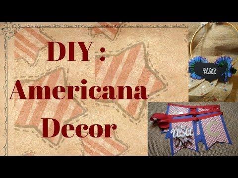 2 Americana DIY Decor