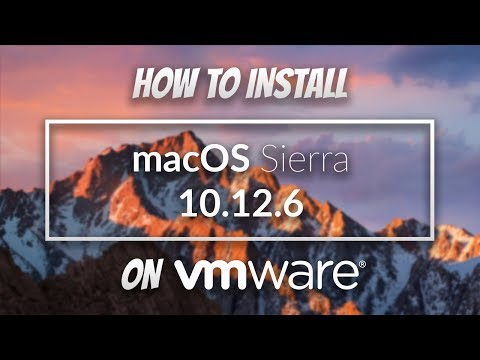 How To Install macOS Sierra 10.12.6 On VMWare On Windows 10 (2017)