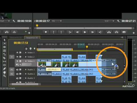 Premiere Pro CS6 102: Basic Editing Technique  - 24. Moving Clips and Snapping