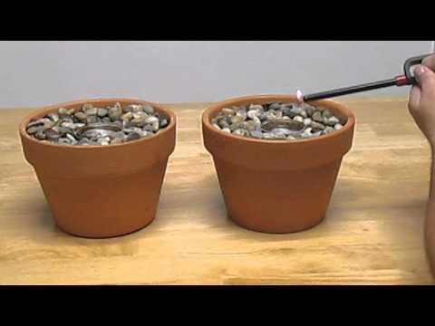 Homemade Indoor Gel Fireplace Pot /SHTF emergency cooking