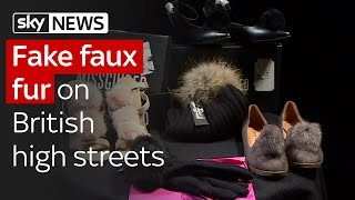 Fake faux fur on British high streets