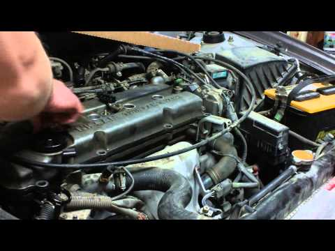 Valve cover gasket replacement on my Nissan