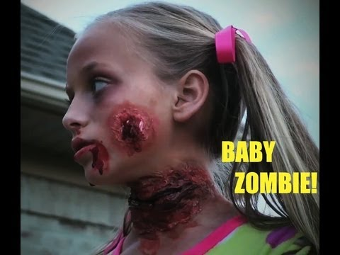 Baby Zombie! (My Halloween Costume!)