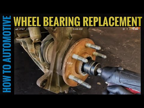 How to Replace the Front Wheel Bearings on a 2000-2006 Chevy K1500 Suburban