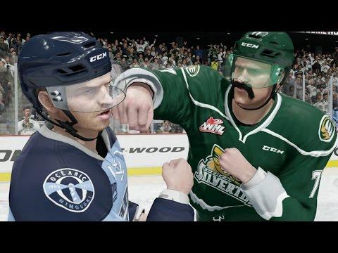 NHL 16 Career Mode #2 - Finally Fighting