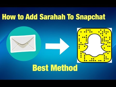 How to put Sarahah on Snapchat - How to link Sarahah on Snapchat - How to share Sarahah on Snapchat