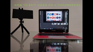 How To Edit Video On Chromebook / Chrome OS With Power Director - My Favorite Video Editor