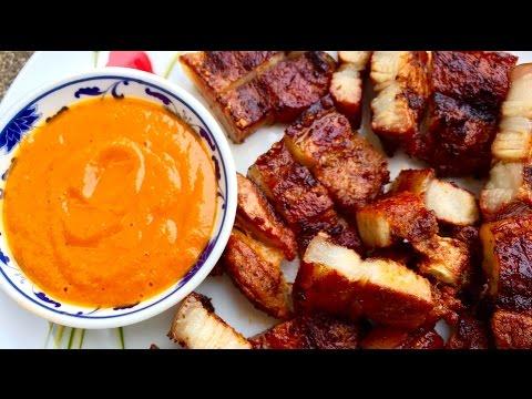 BBQ Pork Belly - Nepali Style - Tasty Nepali Food Recipe!