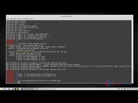 How to setup a name based VirtualHost on Linux Mint 18.3
