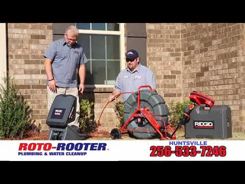 Wi-Fi Pipe Inspection Camera Service | Roto-Rooter Huntsville