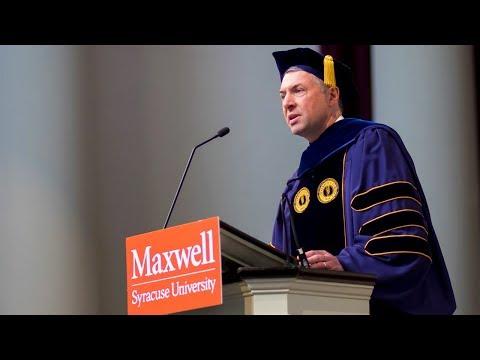 2018 Maxwell School Graduate Convocation