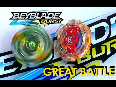 Beyblade Burst by Hasbro  Wave 3 Wyvorn W2 Vs Kerbeus K2 Battle
