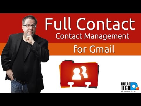 Full Contact for Gmail - The Address Book Answer?