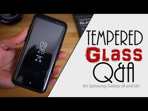 Samsung Galaxy S8 and S8+ Tempered Glass Q&A | GPEL and Olixar