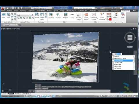 AutoCAD - 3 methods for aligning images