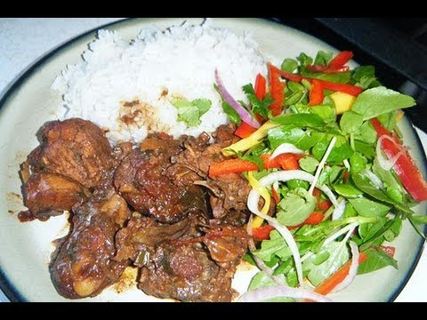 How to Make Caribbean Stew Chicken.