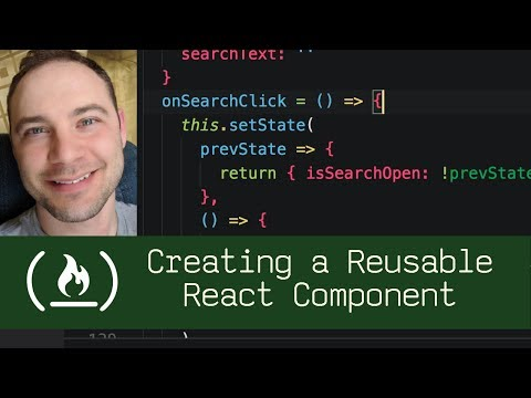 Creating a Reusable React Component (P5D65) - Live Coding with Jesse