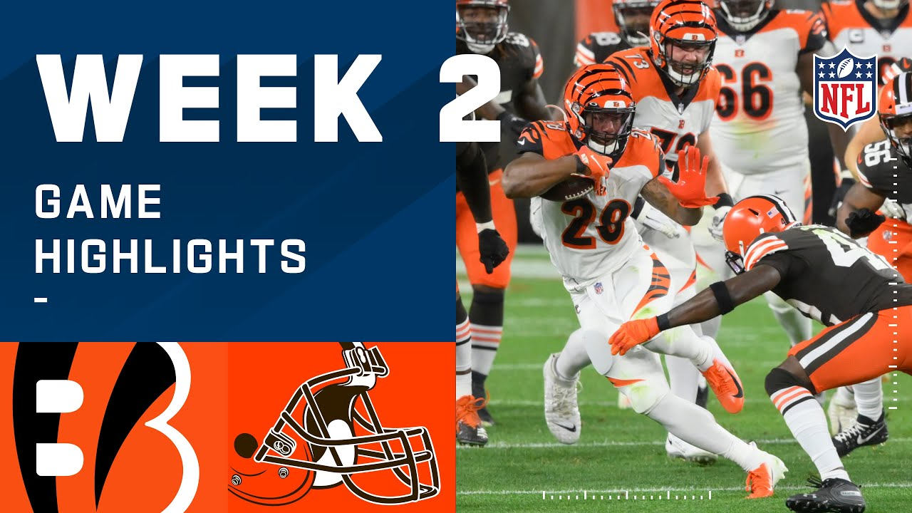 Bengals vs. Browns Week 2 Highlights | NFL 2020