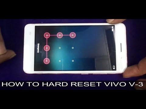 How To Hard Reset VIVO V3