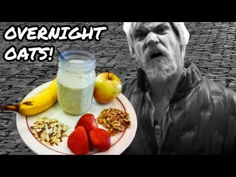 Overnight Oats Recipe - Fast n' Healthy Breakfast Meal