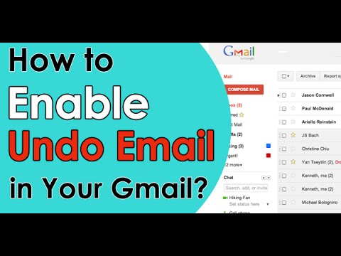 How to Recall Sent Email Messages in Gmail - Undo Wrong Delivery E-mails [2018]