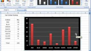 Excel 2007 Creating Editing Charts And Graphs