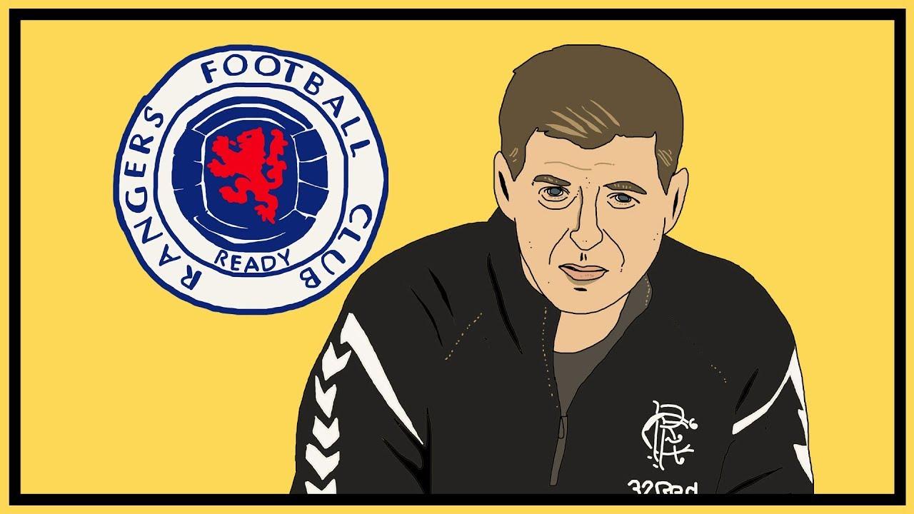 Two Number 10s: Steven Gerrard's Rangers