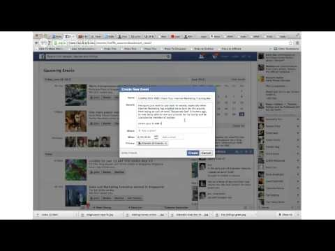 How To Create A Facebook Event And Perform A Mass Invite
