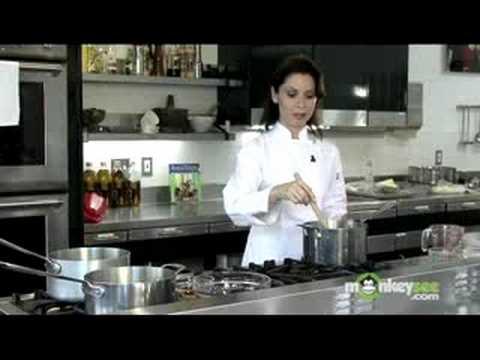 Making Baklava Syrup