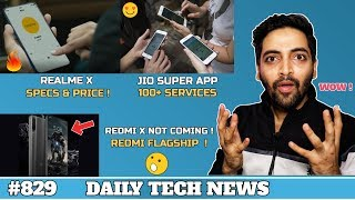Realme X Pro Price & Specs,No Redmi X,Jio Super App,Oneplus 7 Pro 12GB, Huawei 5G TV 8K-#829