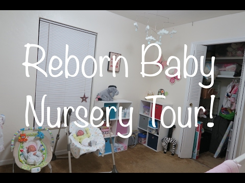 Reborn Baby Nursery Tour February 2017!!!
