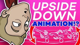 The UPSIDE-DOWN ANIMATION CHALLENGE!!