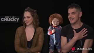 Cult Of Chucky Interviews - Don Mancini &  Fiona Dourif