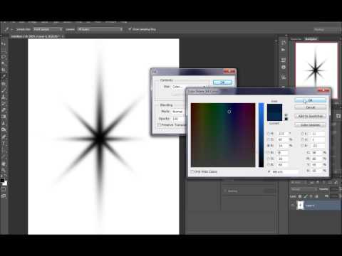 Creating Custom Brushes in Photoshop: Star Brush Tutorial