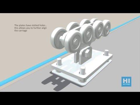Cantilever sliding gate system