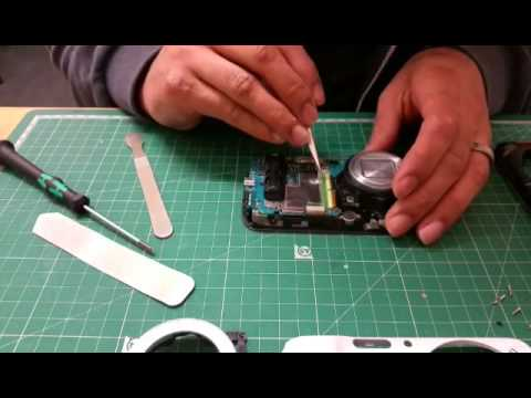 Samsung Galaxy S4 zoom Sim reader repair (Disassembley and reassembly time-lapsed)