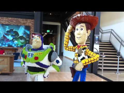 Pixar Animation Studios Tour