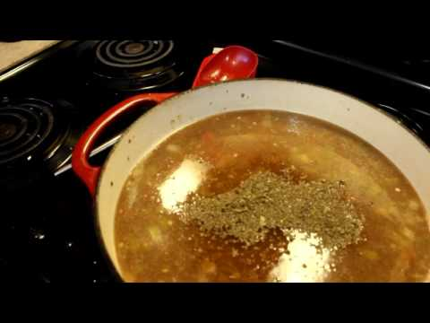 Cooking With Grammy Pork Hatch Green Chile Stew Part 2