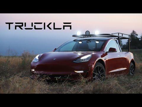 Xxx Mp4 TRUCKLA The World S First Tesla Pickup Truck 3gp Sex