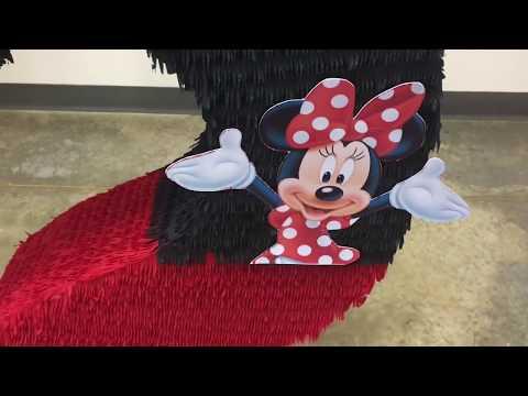 Mini Mouse Pinata Number 2 Birthday Pinatas